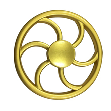 New Arrival Metal Brass Gold Hand Spinners Toys Fidget Spinner