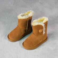 MS80051Q Winter new arrival kids new design thermal long boots