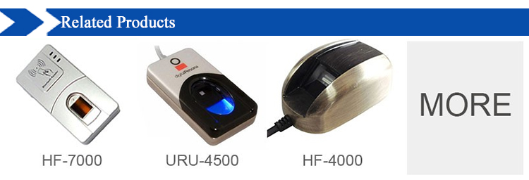 HF9000 USB Portable Fingerprint Scanner Made in China with Competitive Quality and Free Windows SDK