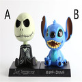 OEM cartoon anime character Lilo & Stitch plastic bobblehead toys/professional design bobblehead toys lilo and stitch cartoon
