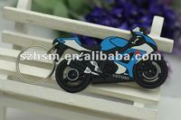 custom cheap 3d car gift soft pvc keyrings
