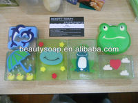 handmade soaps with animal