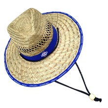 Cheap promotion men hollow straw cowboy hat