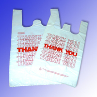 Thank you T Shirt Bags Wholesale Shopping Plastic Bags for Supermarket
