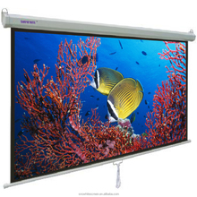"SNOWHITE 84"" 16:9 Format 3V084MMH Manual pull down projector screen"