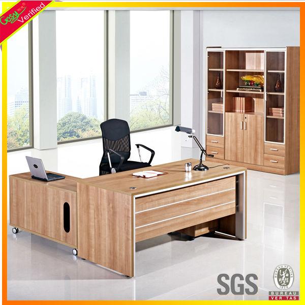 Muebles de oficina escritorio de oficina / Gerente escritorio / escritorio ej...