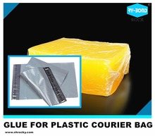 high bonding streng PE courier bag hot melt pressure adhesive