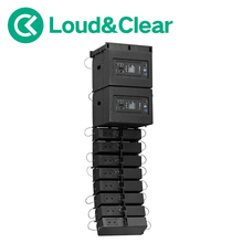 line array with switch amps use dj line array good line array box