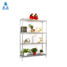 perfect binding wire display shelf rack shelving for flowers