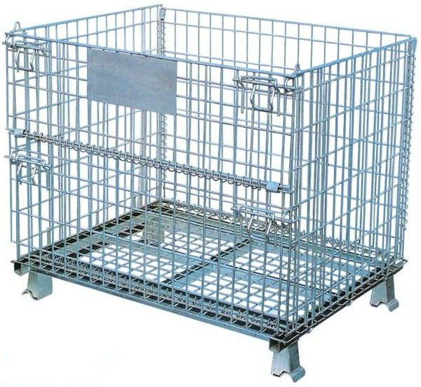 Wire Storage Bins | Wire Basket Stillage Cagestorage Pallet Bin Buy Storage Bins