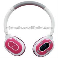 hot selling high end mobile phone wireless earphone with FM radio