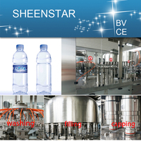 Custormer used friendly mineral pet water bottle filling machine