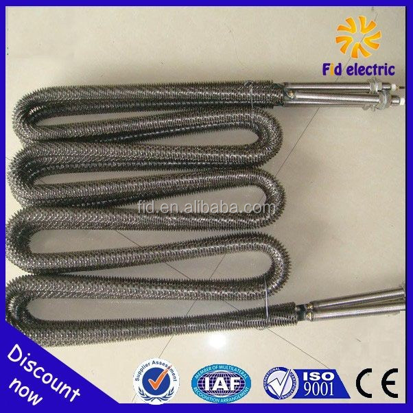 kinds of electrical materials finned heaters china supplier