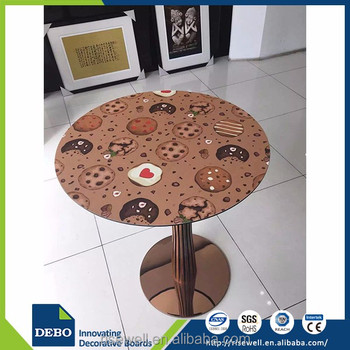 Chinese products wholesale laminate restaurant table tops