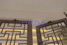 Customized Laser cutting metal decorative room s/s screen and dividers of Modern style