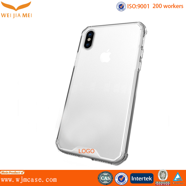 Transparent Tpu acrylic for iphone 8 case, For iphone 8 Tpu case