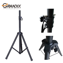 China Professional Manufacture Black Heavy Duty Iron Tripod Pole-Mount DJ PA Speaker Stand