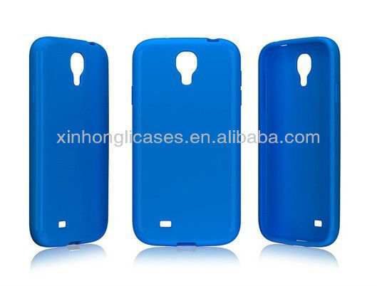 New arrivel good TPU Rubber Skin Cover For samsung galaxy s4 i9500, For Samsung S4 I9500 new cover case