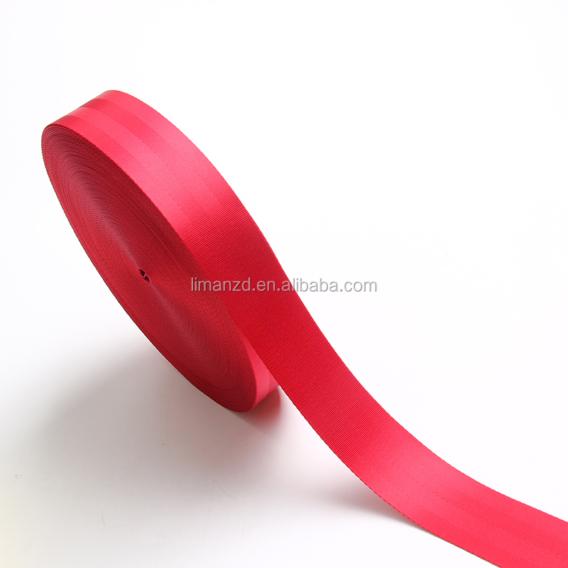 liman factory webbing,nylon /cotton /elastic band/jacquard/grosgrain customized color