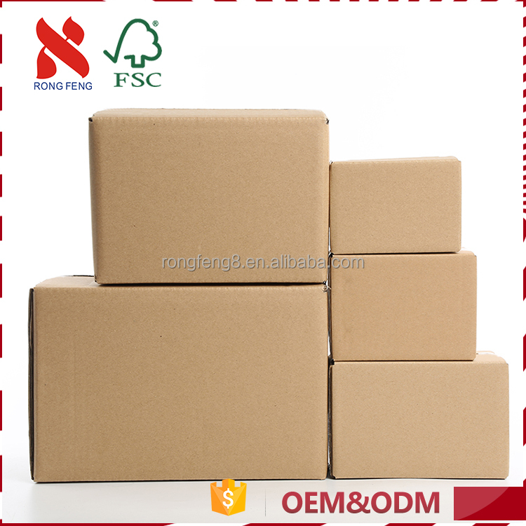 Good service and high quality delicate design packing paper box logo printed for auto parts
