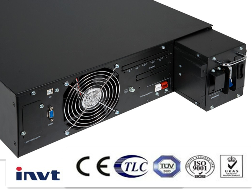 19 Inches Rack Mounted UPS (1~6kVA)