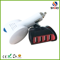 High Quality Mobile Phone Use 4 Port Smart Charge USB Car Charger