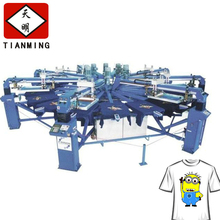 Chinese suppliers of high quality reliable automatic flat bed silk screen printing machine