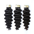 Free sample loose deep 100% human Brazilian double drawn virgin hair extension