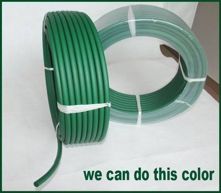 extruded thermoplastic polyurethane rubber round belt