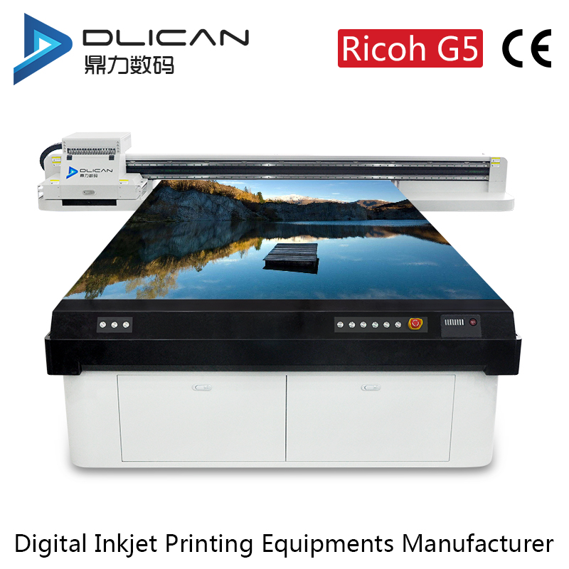 Dlican UV high precision flatbed digital printer wide format functions