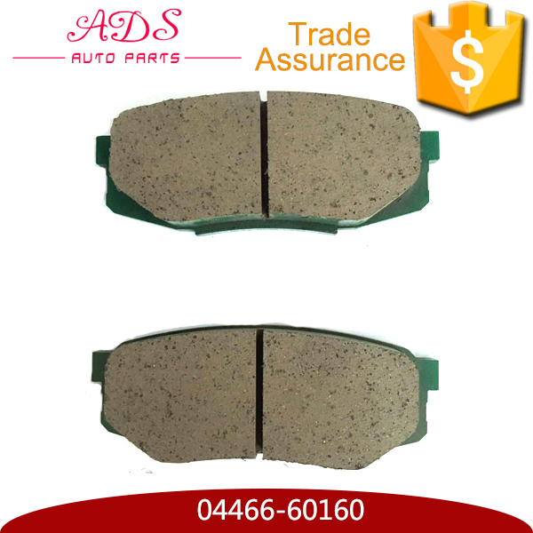 04466-60160 wholesale supercheap advanced brake disc and pads cost for Land Cruiser Lexus LX570 auto spares parts online