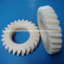 Processing customized acetal tooth gear POM plastic worm gear