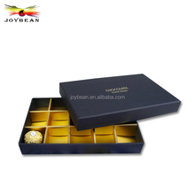 Alibaba Promotional Popular Paper Cardboard Gift Boxes Clear Lid, Wholesale Printing High Quality Chocolate Black Packaging Box