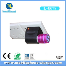 Bottom price 5V 2.1A charging in car usb charger for mobile phone factory wholesale