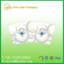 AA grade Quality pe coated coated cup paper/pla coated paper cup sleeve
