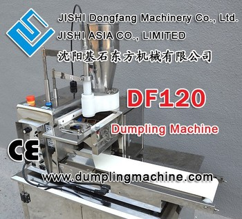 df120 desktop stainless steel dumpling machine