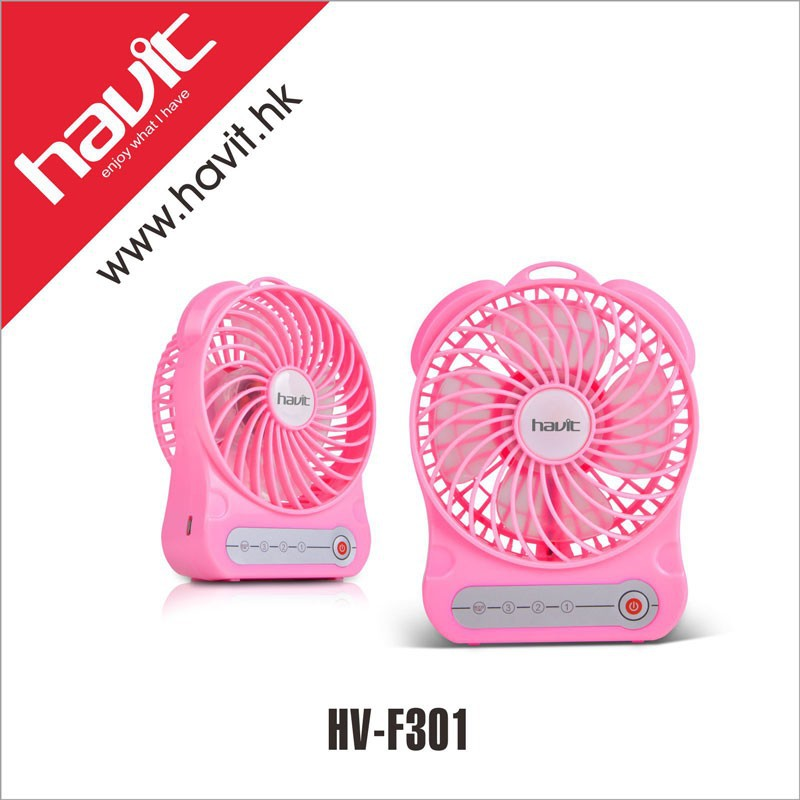 Havit cooler convenient portable air cooling USB charging mini fan