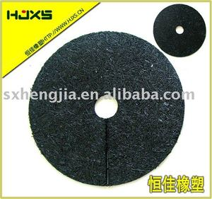 Rubber mulch tree ring Recycled rubber mulch Rubber mulch ring