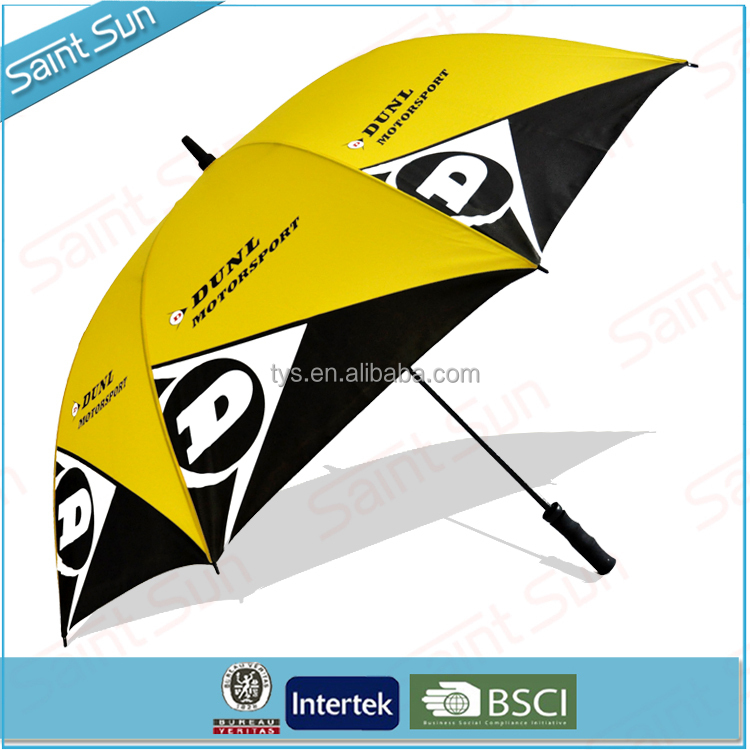 New Car Custom Advertising Golf Umbrella For Promotional Gifts
