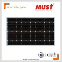 MUST High Quality TUV Certified 12V 120W Solar PV Panel 12V 120W Soalr Module 120w solar panel