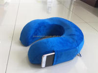 neck rest pillow memory foam with phone pocket