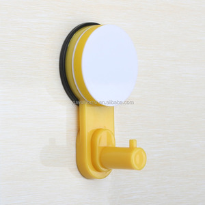 wholesale home style silver color suction cup 5 kgs plastic hook