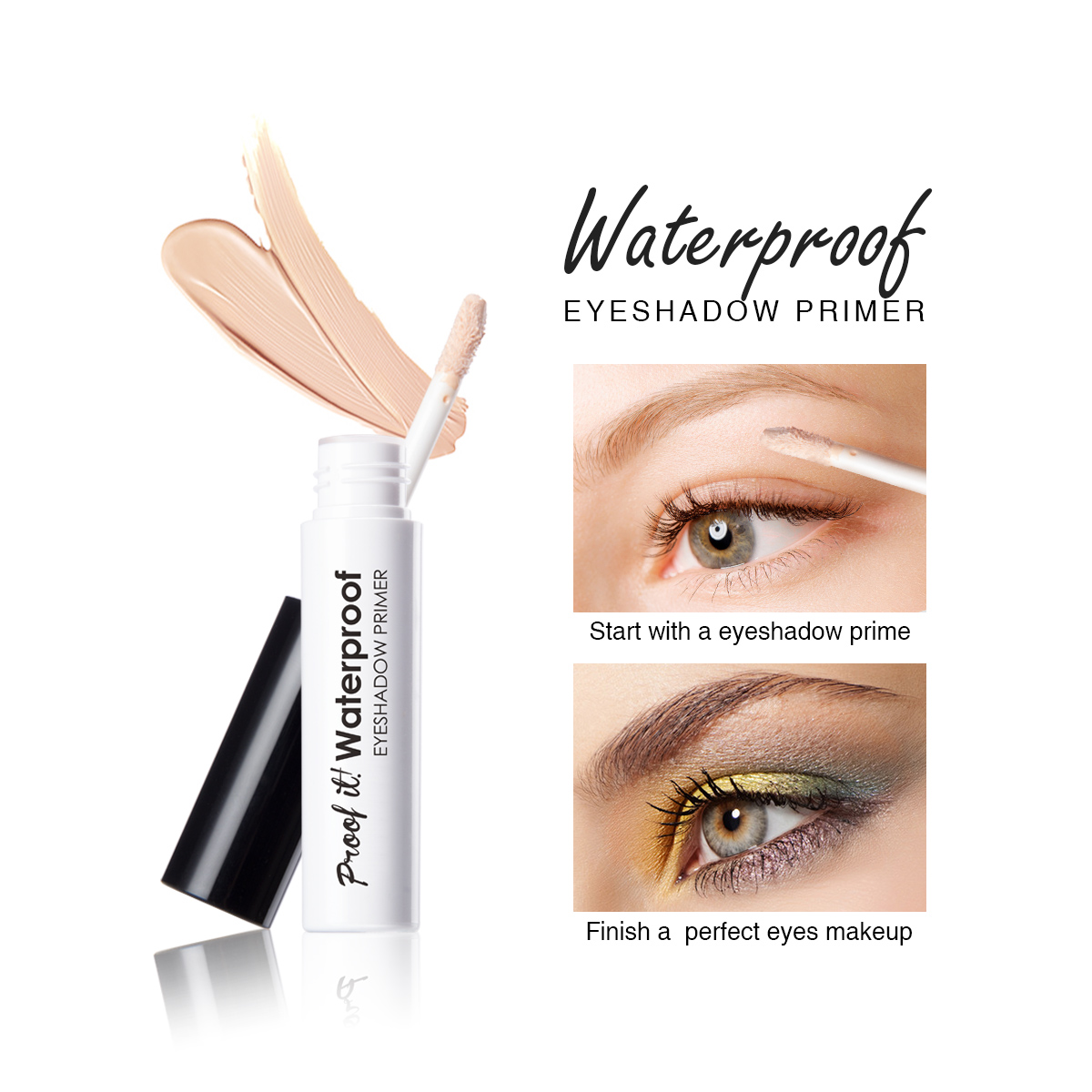 E424 Cosmetic Eyes Makeup Base Eyeshadow Primer