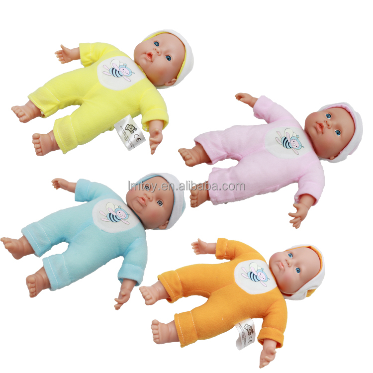 27 cm funny baby alive doll with vivid expression