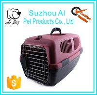 Portable Airline Approved Car Travel Vet Visit Plastic Pet Crate