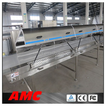 Temperature Control Polyurethane Hoods types of potatoes Cooling Tunnel