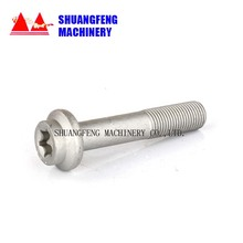 China Advertising Screws Manufacture Decorative Stainless Steel Glass plastic rivet fastener