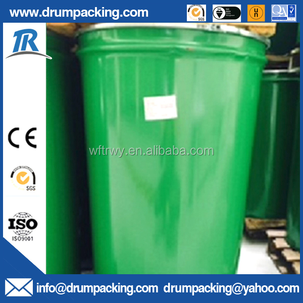 60 Gallon Open Top Steel Conical Barrel Drum with Lid for Ketchup packaging