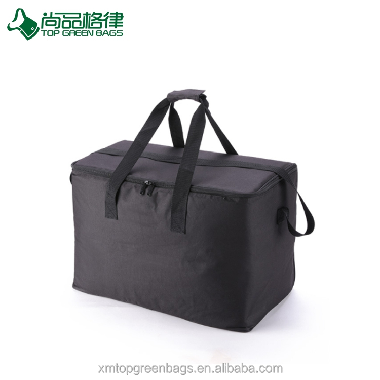Large Capacity Thermal Delivery Box Water Food Fruit Storage Portable Cooler Tote Picnic Bag