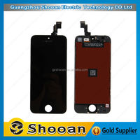 1year warranty mobile phone touch screen for iphone 5s lcd